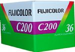 Fujicolor C200  200 iso 35mm 36 exposure Colour Print Camera Film